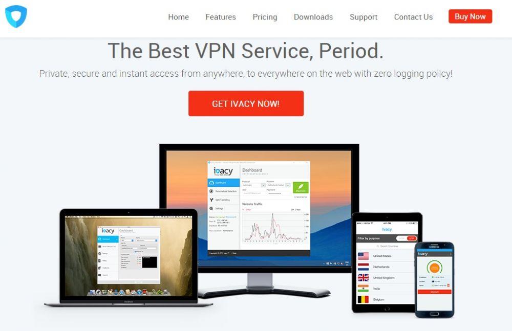 Ivacy VPN for Torrenting - Torrent VPN