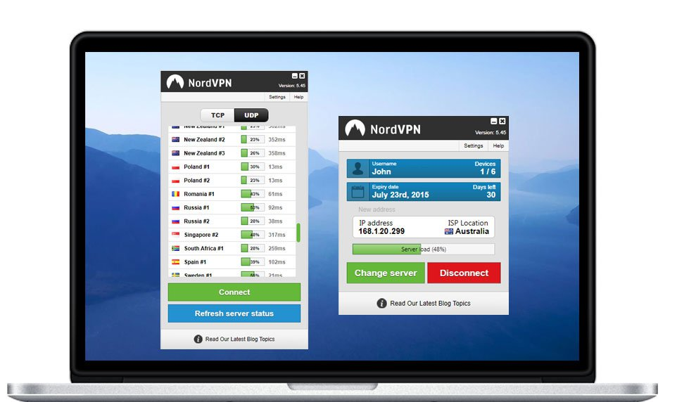 nordvpn windows laptop